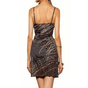 charlotte gray silk dress