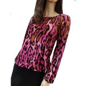 FLORA KUNG Leni leopard