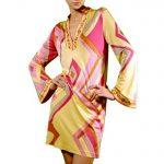 colette yellow silk shift