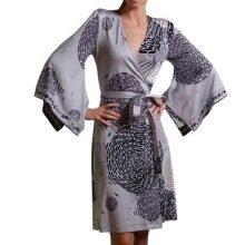 FLORA KUNG Alicia kimono gray