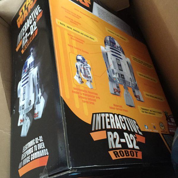 STAR WARS R2D2 Hasbro NIB Interactive vintage droid @SelectionCoste.com