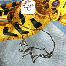 vintage 18K white gold chain @selectioncoste.com