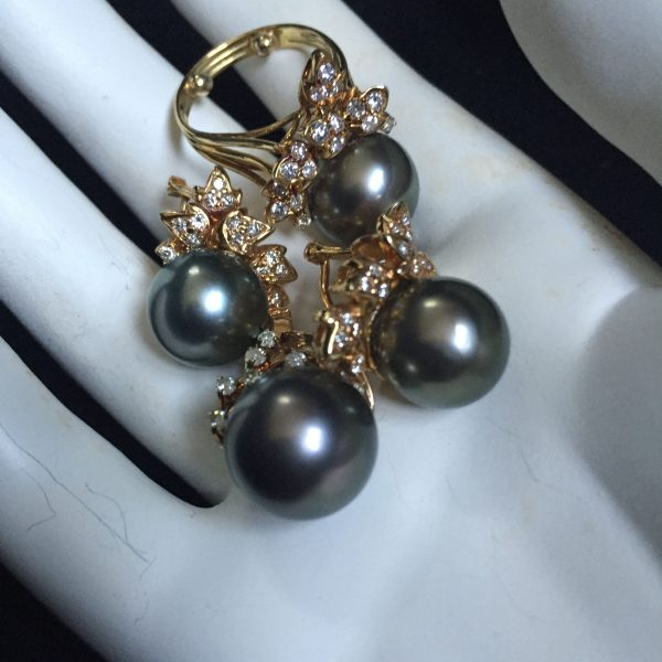 South sea pearl diamond jewelry @SelectionCoste.com