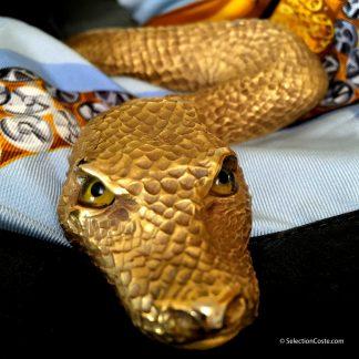 Christopher Rosee serpent belt @SelectionCoste.com