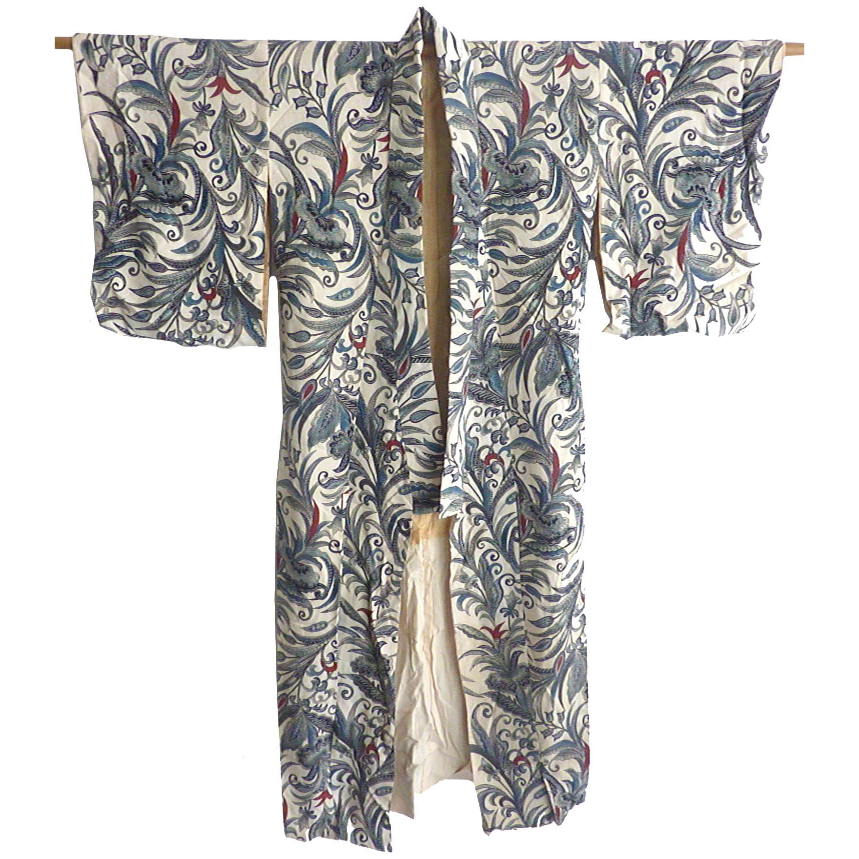 silk brocade kimono @SelectionCoste.com
