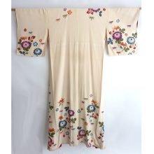 Antique Ivory kimono