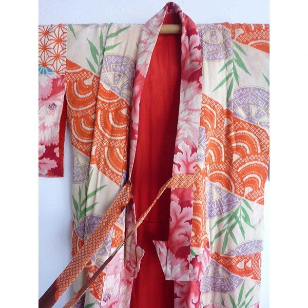 junior Japanese vintage kimono @selectioncoste.com