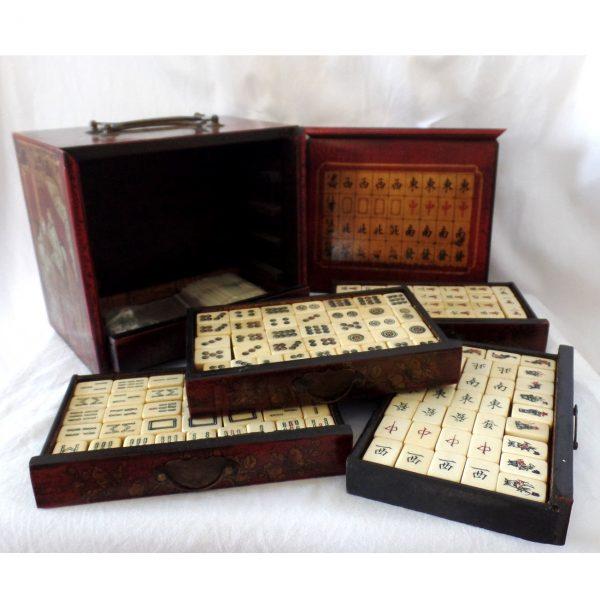 vintage Mahjong set @SelectionCoste.com