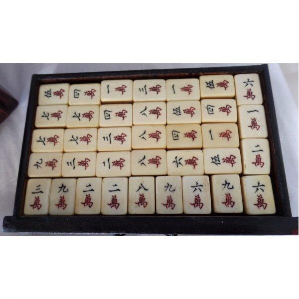 vintage ivory Mahjong set @SelectionCoste.com