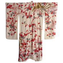 Gold Phoenix kimono