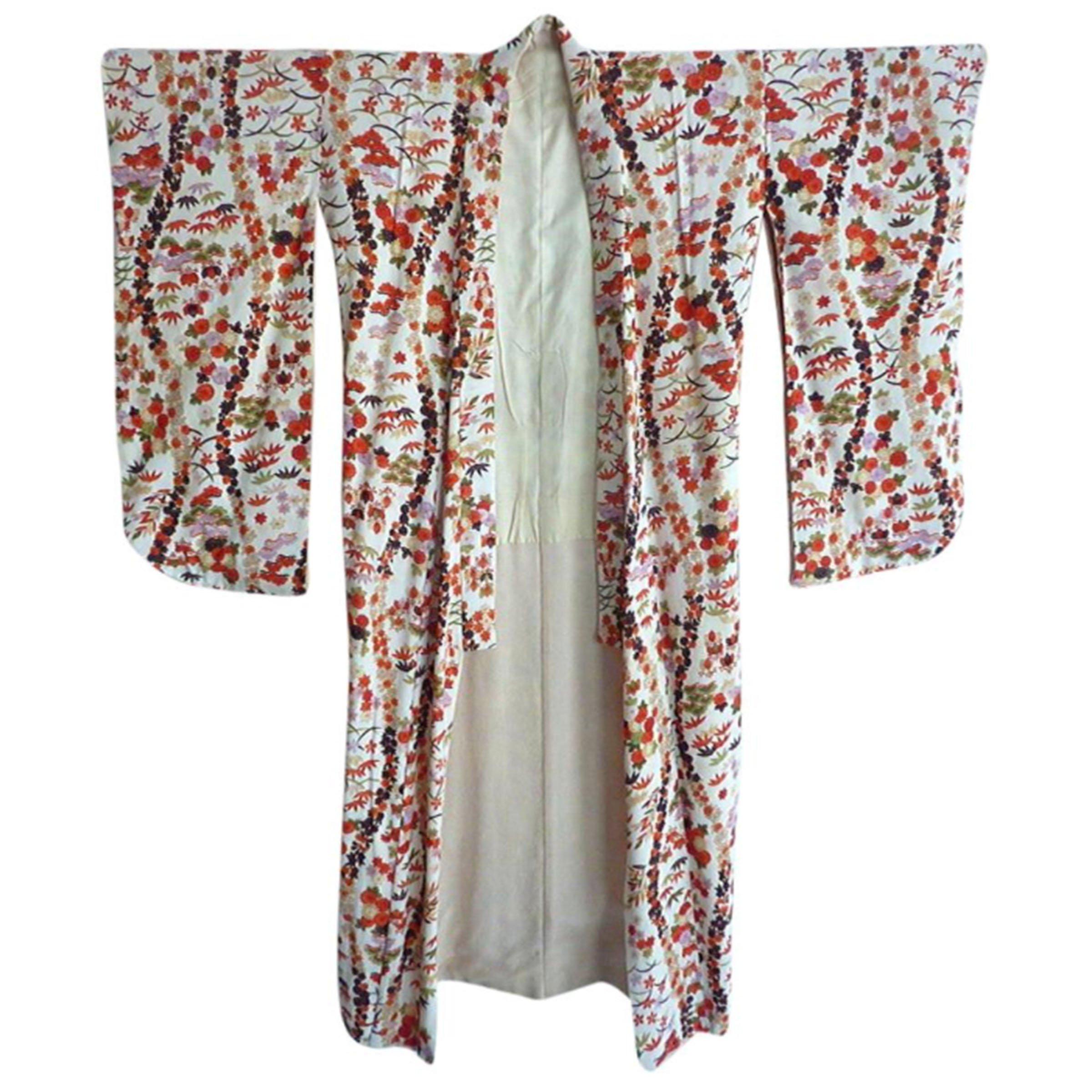 Japanese silk kimono @selectioncoste.com