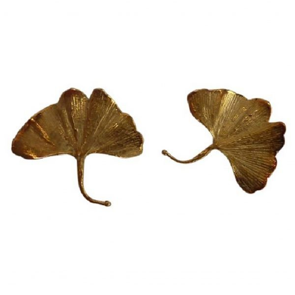 CLAUDE LALANNE Gingko earrings @SelectionCoste.com