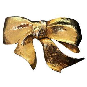 Christopher Ross Bow belt buckle @selectioncoste.com