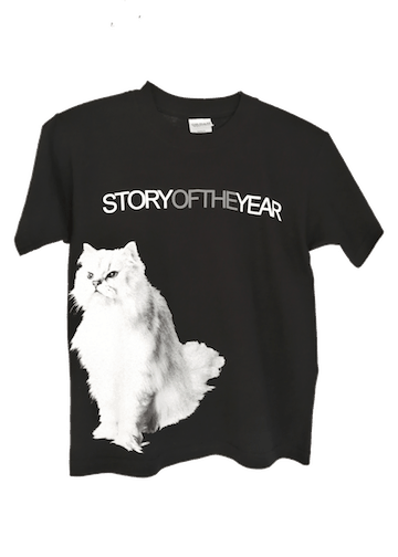 Story of The Year Concert Tour Cat T-Shirt