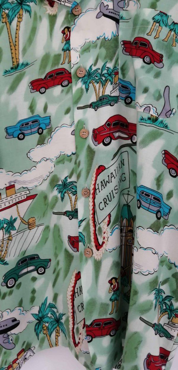 Hawaiian cruising shirt XL