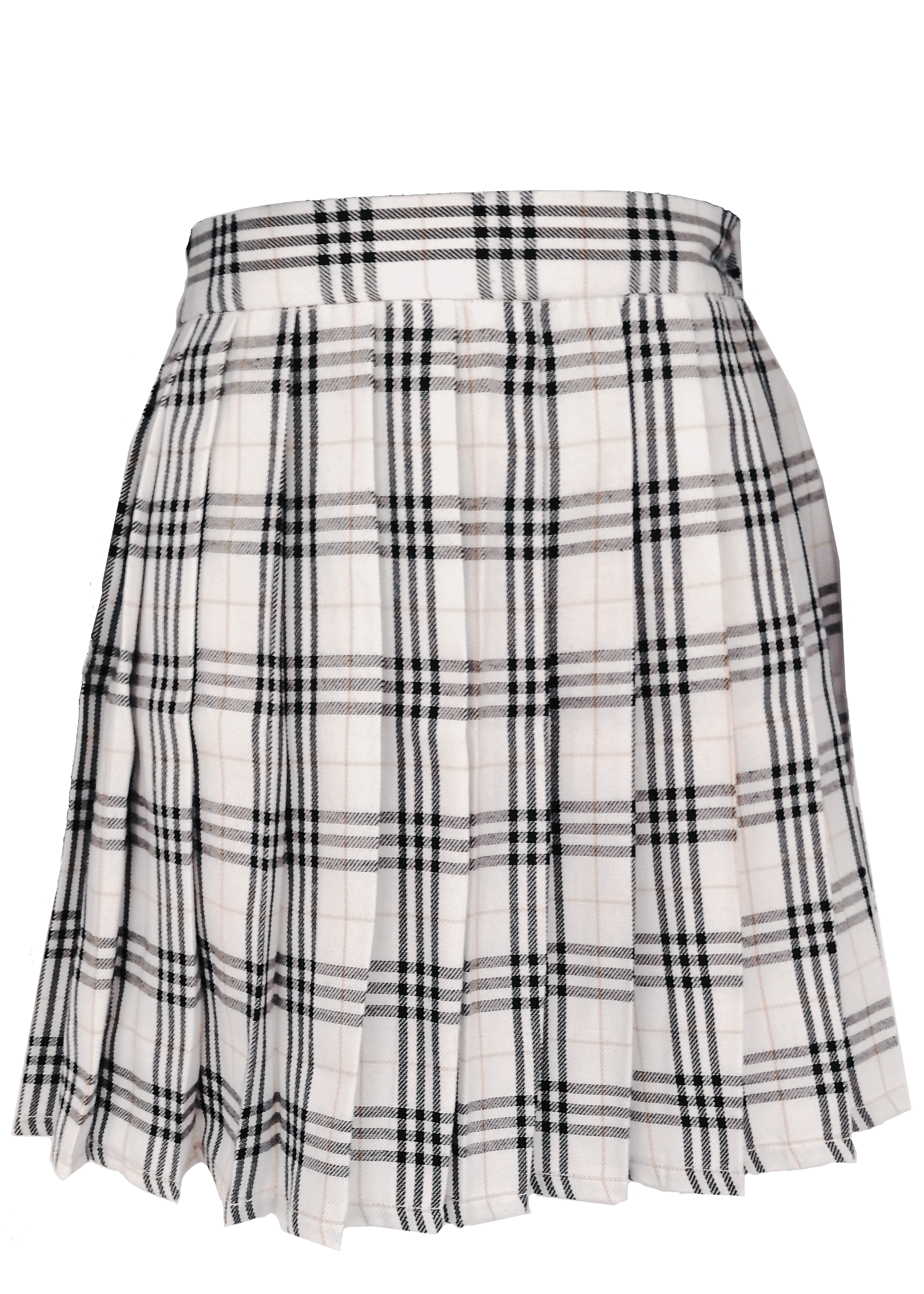 Japanese Pleated Plaid Skirt