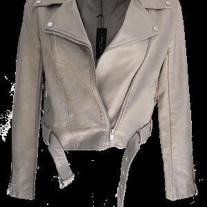 Romeo Juliet Couture Pearlescent Biker Jacket