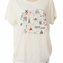 J. Crew Collectors Paris T-shirt