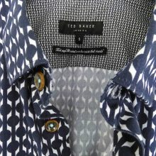 Ted Baker London Navy print shirt