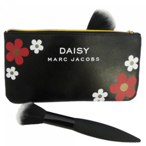 Marc Jacobs Black Daisy Pouch