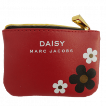 Marc Jacobs Red Daisy Card Wallet