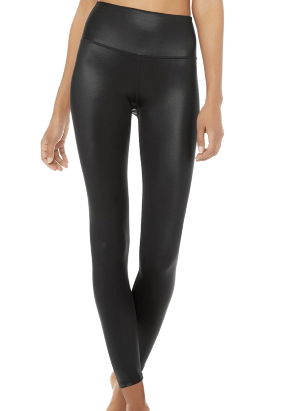High Waist Glossy Korean Yoga Legging