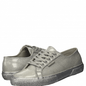 Italy Superga Coated Metallic Low-Top