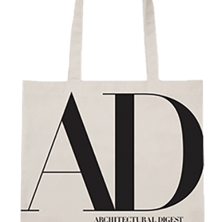 Architecture Digest AD Canvas Tote
