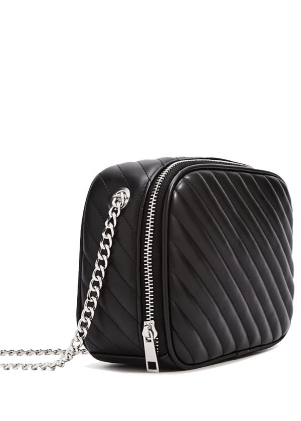 Quilted Black Crossbody Bag