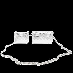 Metallic Quilted Bag Belt