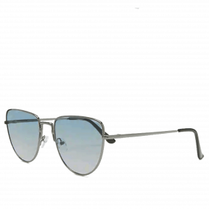 Metal Gradient Aviator Sunglasses