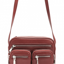 Crossbody red utility bag