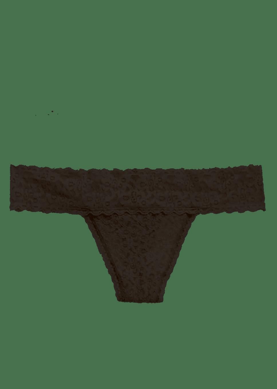 GAP Black Lace Thong