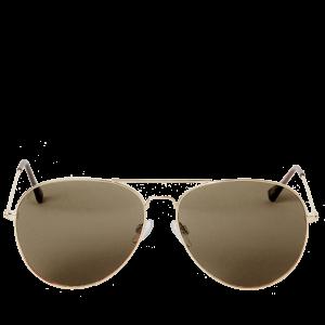 Double-Bridge 62mm Aviator Sunglasses