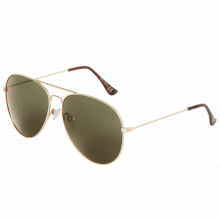 Double-Bridge 62mm Aviator Sunglasses