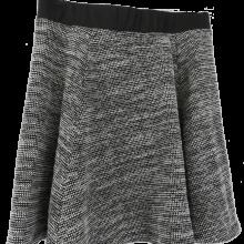 H&M Tweedy Skater Skirt