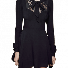 For Love & Lemons Little Black Dress
