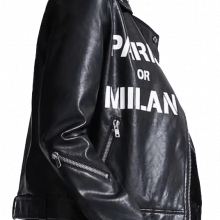 PARIS MILAN Moto Biker Jacket
