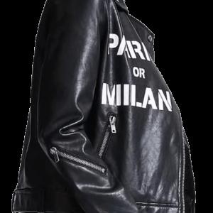 PARIS MILAN Moto Biker Jacket