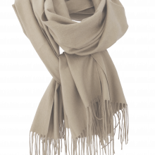 Soft Luxurious Unisex Cognac Scarf