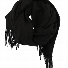 Unisex Scarf in Black