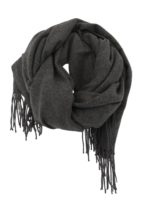 Perfect Unisex Scarf in Charcoal Heather