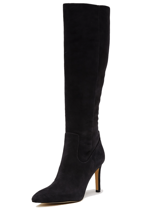 Sam Edelman Olencia Black Suede Boots