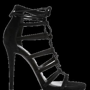 Velvet Strappy Stilettos