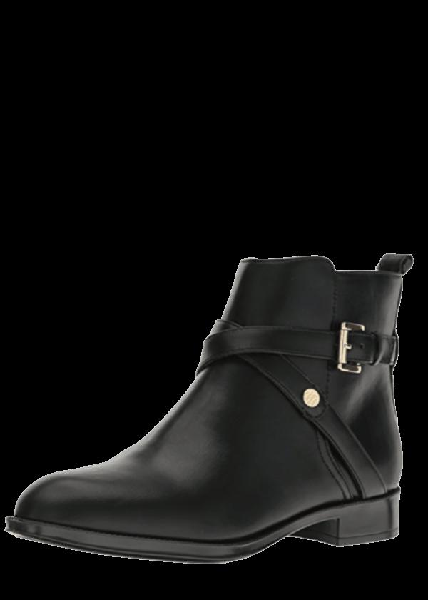 Tommy Hilfiger Black Ankle Boots
