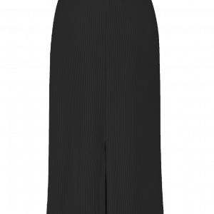 Uniqlo Black Ribbed Knit Tube Skirt