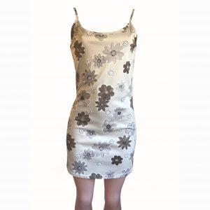 neutral daisy-slip-dress