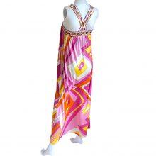 flora-kung-apollina-pink-yellow-silk-boho-maxi-mixed-print-dress
