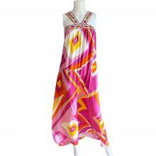 flora-kung-apollina-pink-yellow-silk-maxi-boho-dress