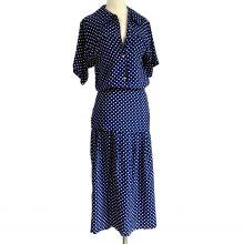 lovisa-navy-white-silk-print-flora-kung-midi-dress
